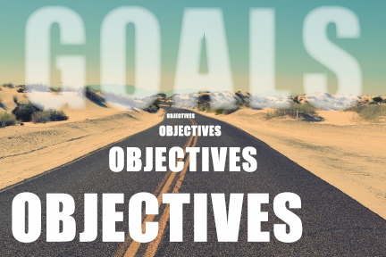knowing the difference between goals objectives critical in