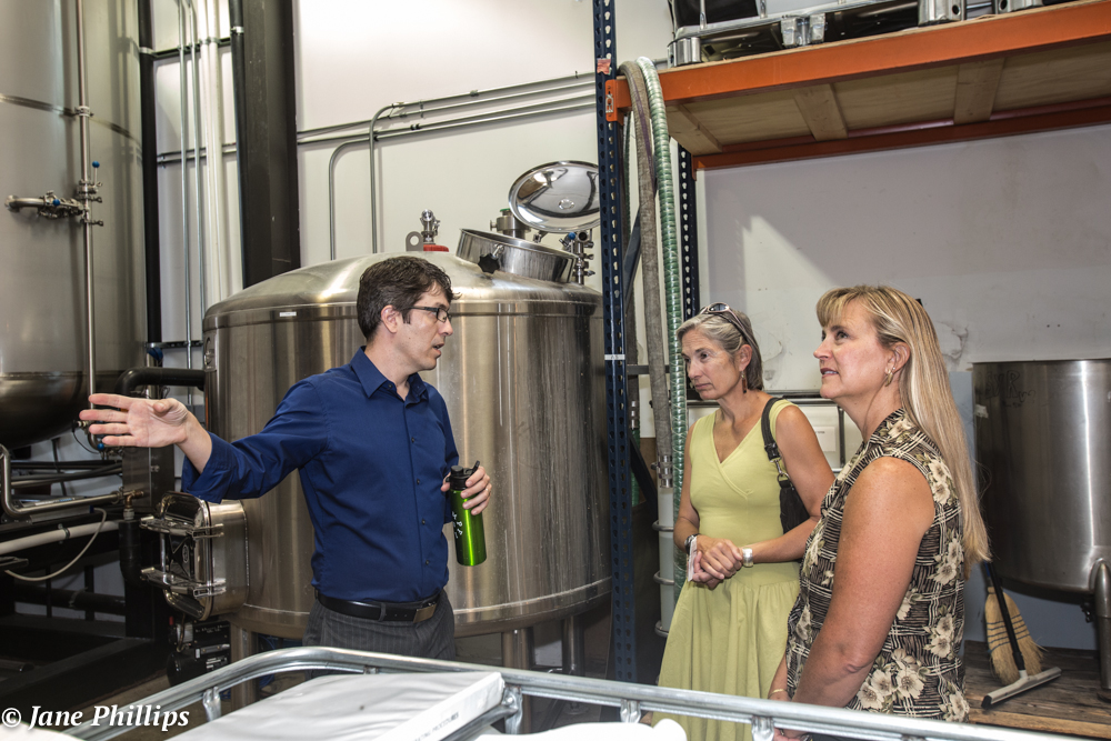 Manufacturing Day 2015 tour at Santa Fe Spirits