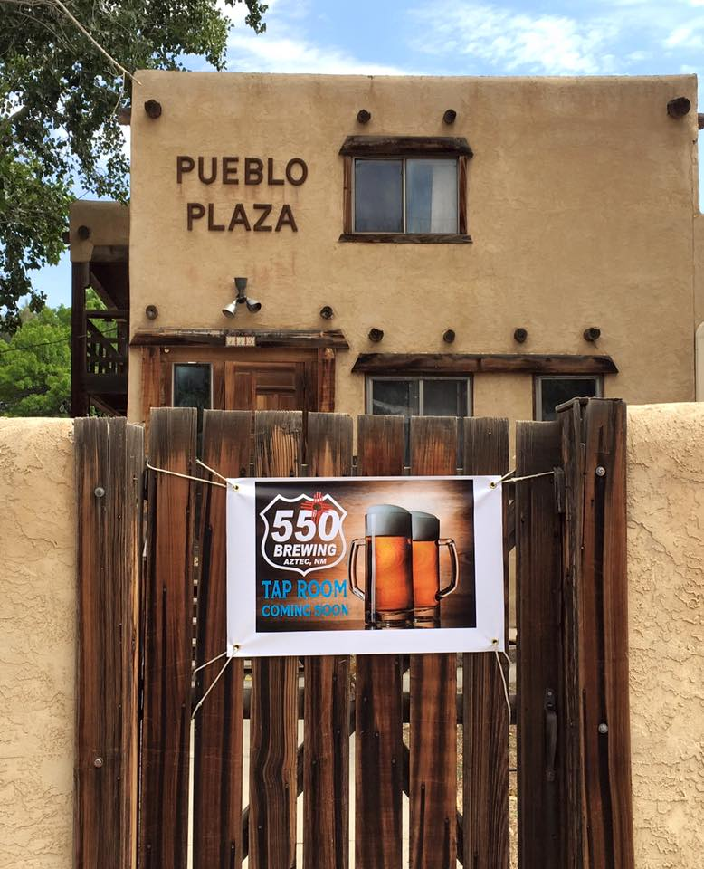 The incubator's first tenant, 550 Brewing; photo courtesy 550 Brewing