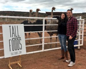 Tall Foods co-founders Andrea Romero and Adam Wachtor